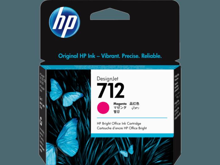 HP 712 29-ml Magenta DesignJet Ink Cartridge