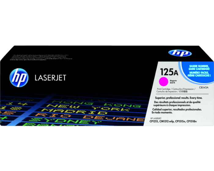 HP 125A Magenta Original LaserJet Toner Cartridge