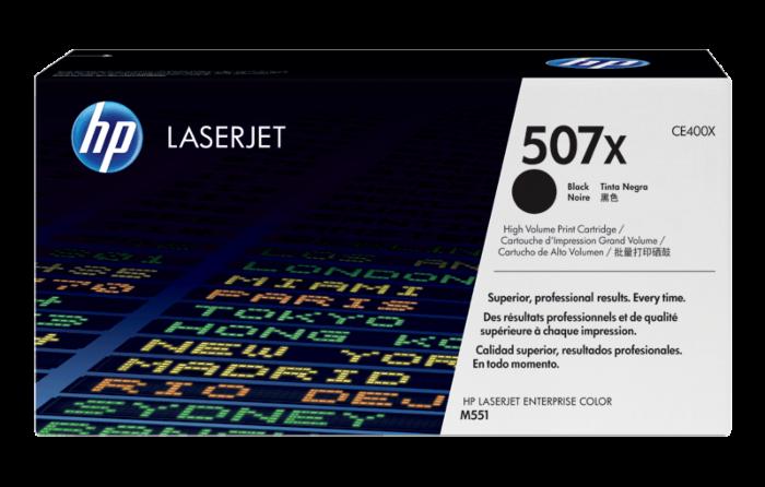 HP 507X High Yield Black Original LaserJet Toner Cartridge