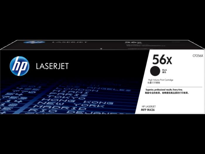 HP 56X High Yield Black Original LaserJet Toner Cartridge
