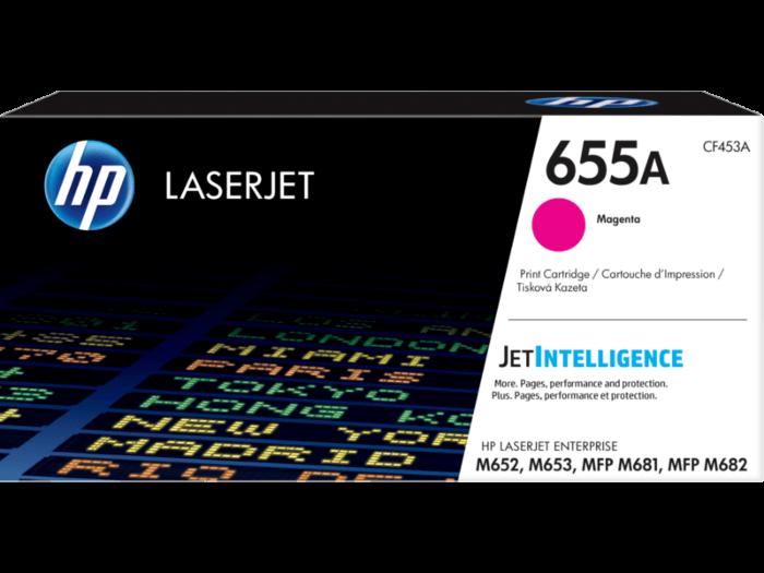 HP 655A Magenta Original LaserJet Toner Cartridge