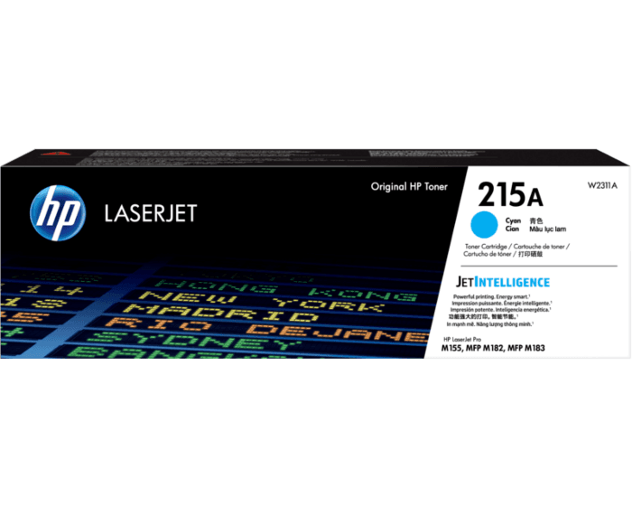 HP 215A Cyan Original LaserJet Toner Cartridge