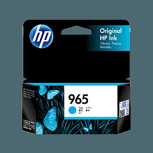 HP 965 Cyan Original Ink Cartridge