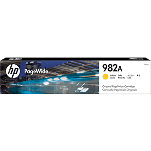 HP 982A Yellow Original PageWide Cartridge