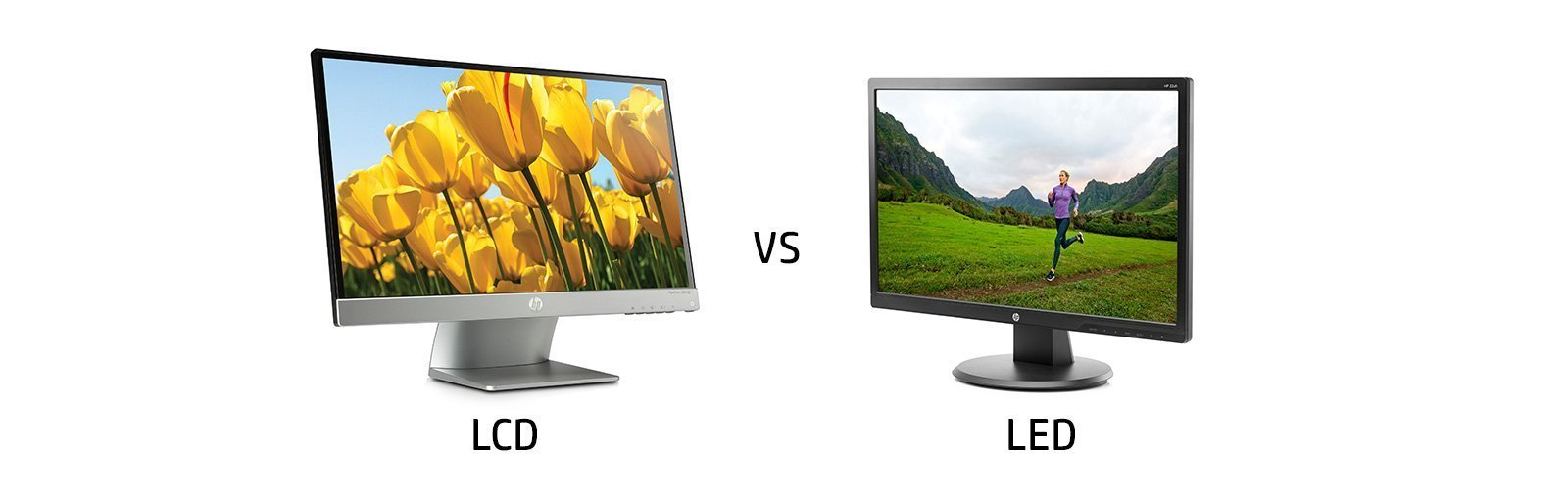 How to Know the Differences Between an LED Display and LCD Monitor